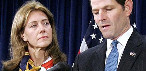 Spitzer's wife