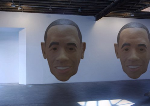 Obama Assassination Art