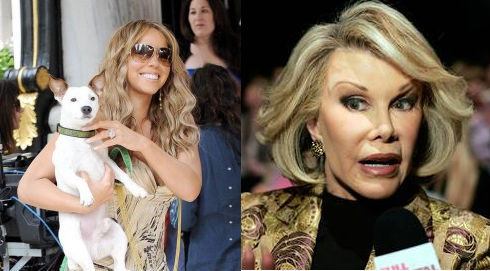 Mariah Carey Joan Rivers